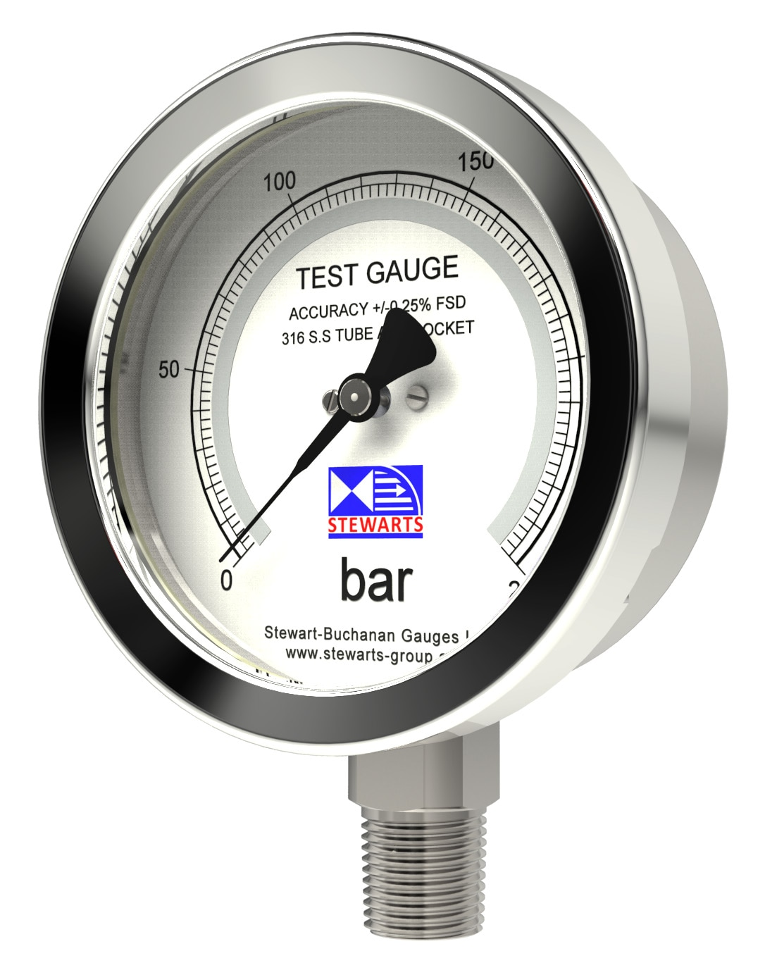Test Gauges Stainless Steel