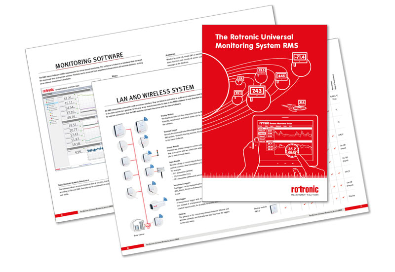 RMS Brochure from Rotronic