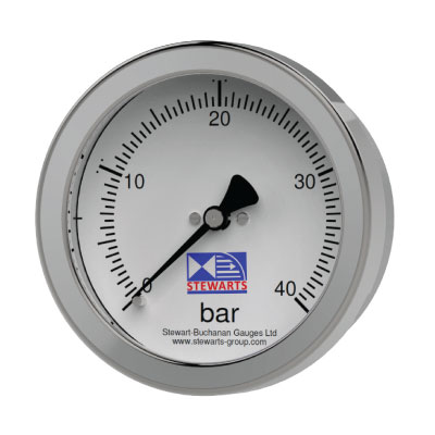 All Stainless Steel Construction Utility Pressure Gauges