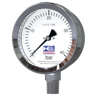 Petro Chemical Stainless Steel Pressure Gauge