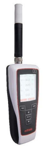 New Temperature and Humidity/Moisture Handheld from Rotronic