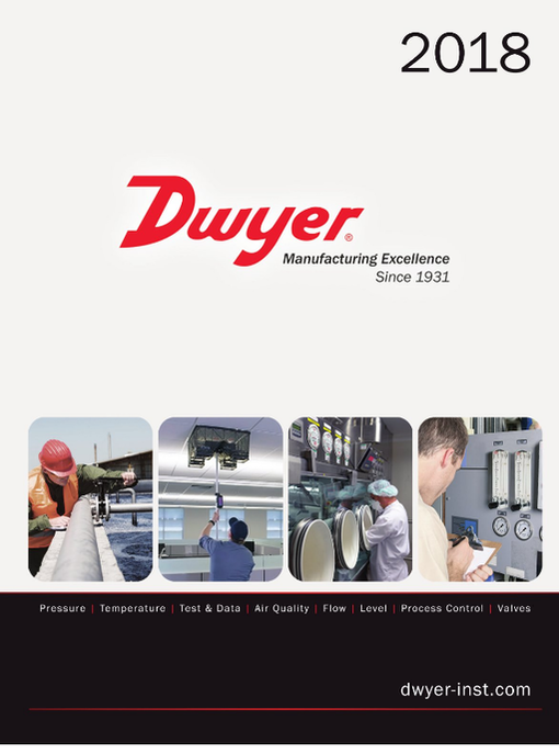 Dwyer Data loggers