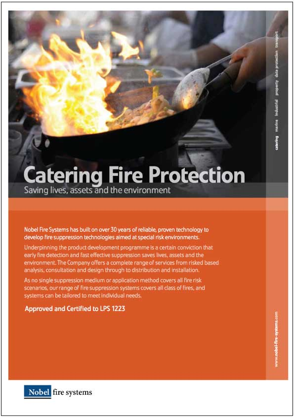 K Series Kitchen System - Catering Fire Protection