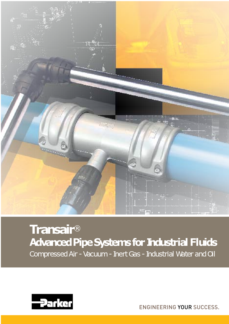 Parker Transair: Advanced pipe work ​System
